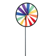 "Load image into Gallery viewer, Rainbow Single Wheel Spinner; Polyester 8""OD"
