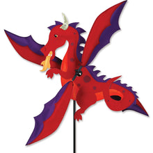 "Load image into Gallery viewer, Dragon Whirligig Spinner; Nylon 16.5""x18.25"", diameter 30"""