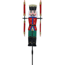 "Load image into Gallery viewer, Nutcracker Whirligig Spinner; Nylon 20""x5"", diameter 17.5"""