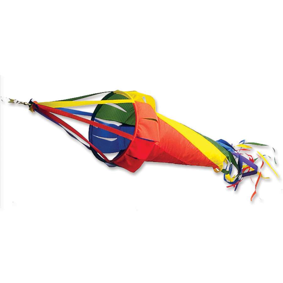 "Load image into Gallery viewer, Rainbow Spinsock; Polyester 36""L"