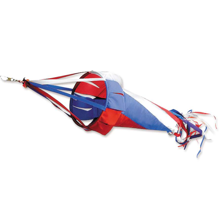 "Load image into Gallery viewer, Patriotic Spinsock; Polyester 78""L"