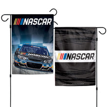 Load image into Gallery viewer, NASCAR Logo 2-Sided Garden Flag; Polyester