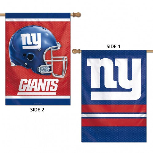 Load image into Gallery viewer, New York Giants Double Sided House Flag; Polyester