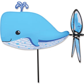"Whale Petite Spinner; Polyester 16.5""x12""x12.5""OD"