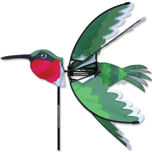 "Load image into Gallery viewer, Hummingbird Spinner; Nylon 24""x24"", diameter 24"""