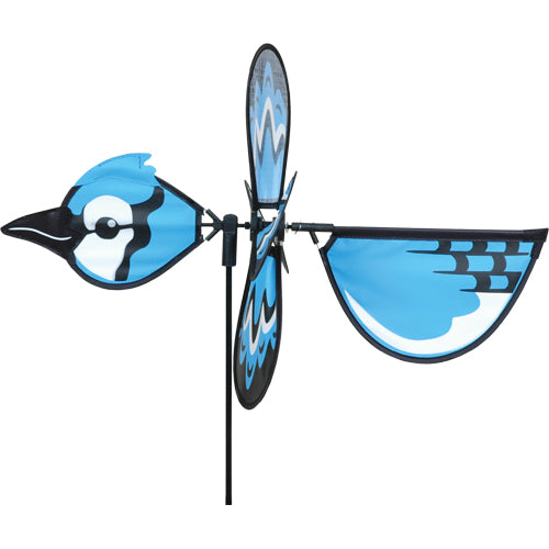 "Load image into Gallery viewer, Blue Jay Spinner; Nylon 18""x12.75"", diameter 12.75"""