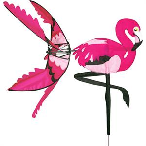 "Load image into Gallery viewer, Flamingo Spinner; Nylon 34""x35"", diameter 32"""