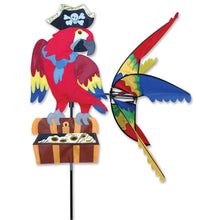 "Load image into Gallery viewer, Pirate Parrot Spinner; Nylon 28""x32.5""x32""OD"