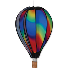 "Load image into Gallery viewer, Wavy Gradient Hot Air Balloon; 22""L x 15"" Diameter"