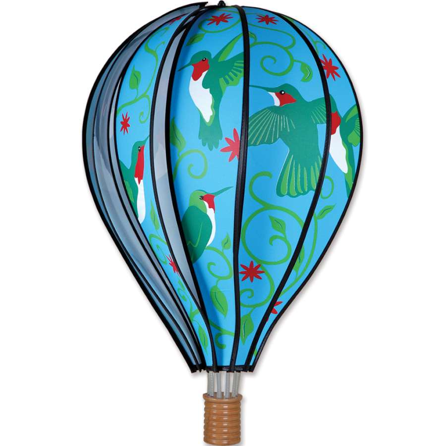 "Load image into Gallery viewer, Hummingbirds Hot Air Balloon; 22""L x 15"" Diameter"
