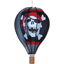 "Load image into Gallery viewer, Jolly Roger Hot Air Balloon; 22""L x 15"" Diameter"