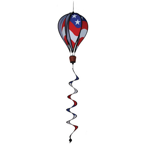 "Load image into Gallery viewer, 12""x46"" Patriotic Hot Air Balloon; 16""L"