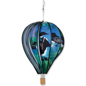Loons Hot Air Balloon Wind Spinner