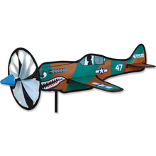 "Load image into Gallery viewer, P-40 Warhawk Airplane Spinner; Nylon 20.5""x16""x7"""
