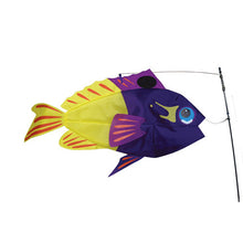 "Load image into Gallery viewer, Fairy Basslet Swimming Fish to include fiberglass hardware & pole; Nylon 25""x13"""