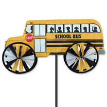 "Load image into Gallery viewer, School Bus Spinner; Polyester 18""x10"", diameter 6"""