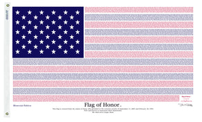 3x5 Flag of Honor Memorial Edition Flag; Poly-Cotton H&G