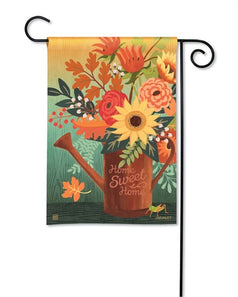 """Autumn Sunrise"" Printed Seasonal Garden Flag; Polyester"