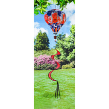 Load image into Gallery viewer, Patriotic Floral Hot Air Balloon Spinner