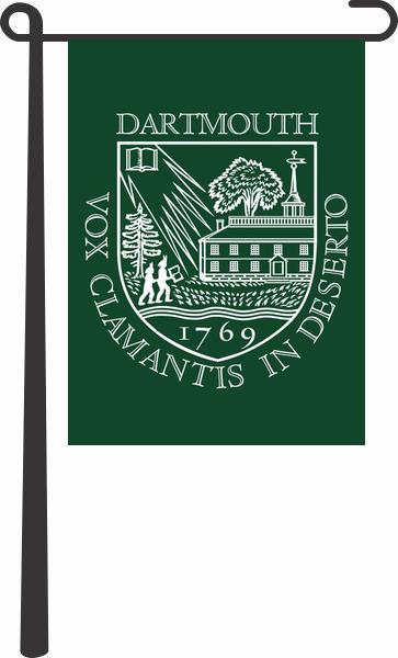 Load image into Gallery viewer, Dartmouth University Garden Flag; Polyester