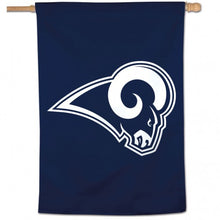 Load image into Gallery viewer, Los Angeles Rams House Flag; Polyester