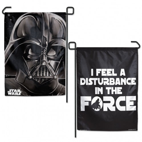 Load image into Gallery viewer, Star Wars Darth Vader Original Trilogy Double Sided Garden Flag; Polyester