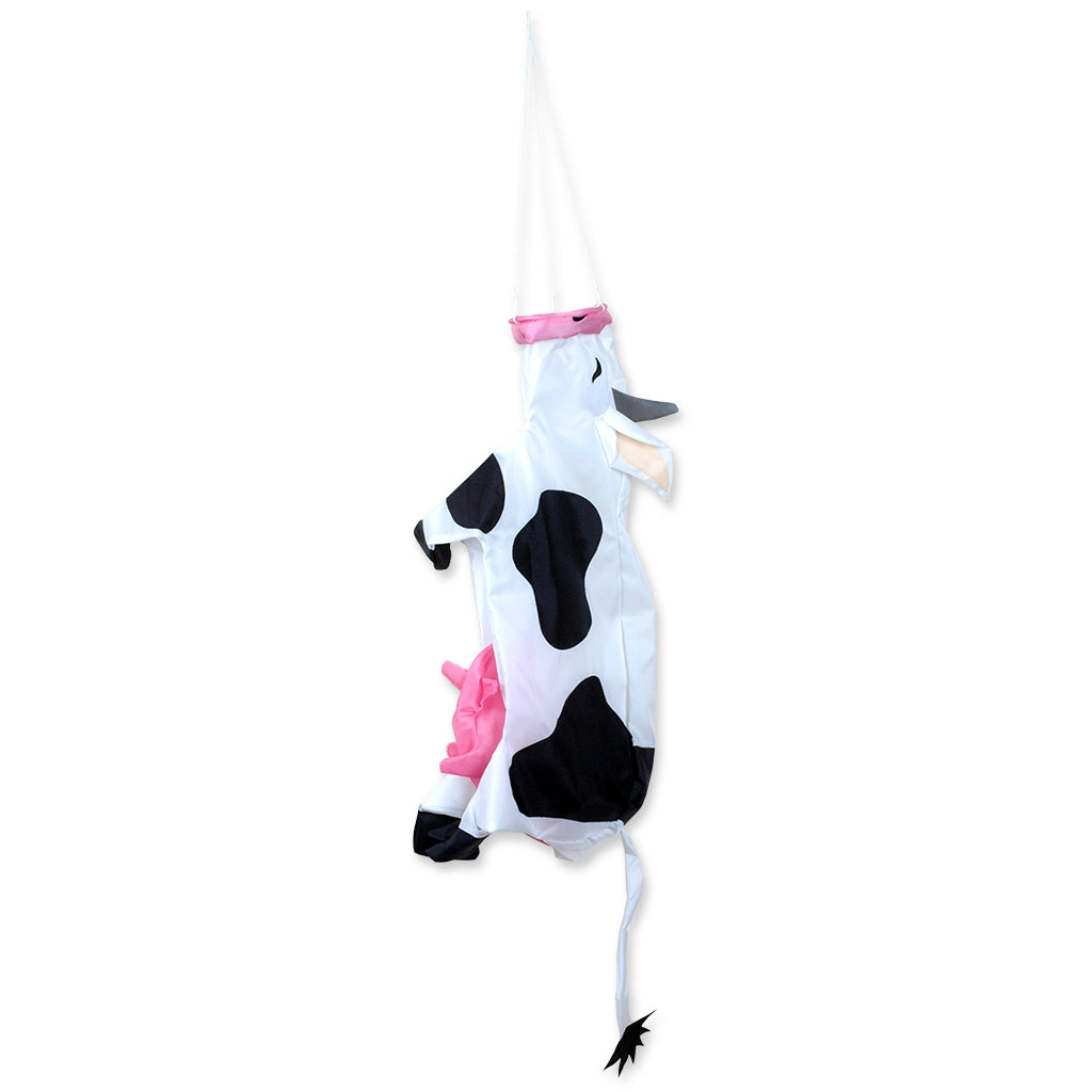"Load image into Gallery viewer, ""Cow"" Windsock; Polyester"