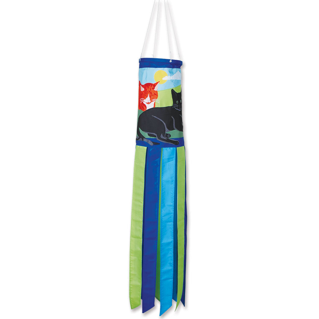 "Load image into Gallery viewer, ""Kitty Kitty"" Windsock; Polyester"