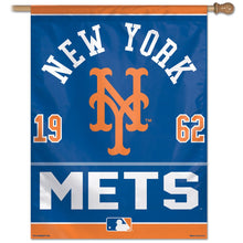 Load image into Gallery viewer, New York Mets House Flag; Polyester