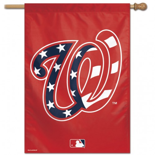 Load image into Gallery viewer, Washington Nationals Team House Flag; Polyester