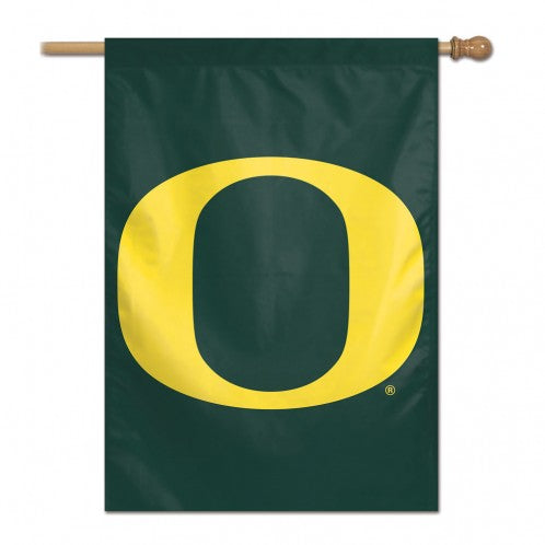 Load image into Gallery viewer, University of Oregon Ducks House Flag; Polyester