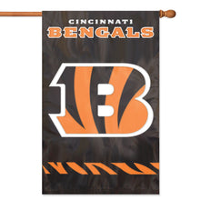 Load image into Gallery viewer, Cincinnati Bengals Applique/Embroidered Double Sided House Flag
