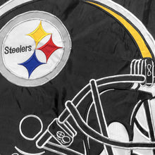 Load image into Gallery viewer, Pittsburgh Steelers Double Sided House Flag