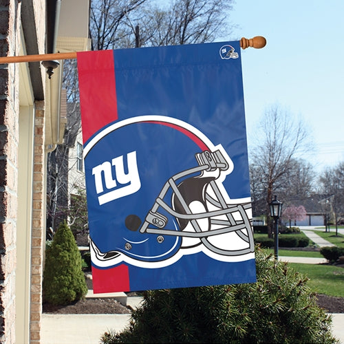 Load image into Gallery viewer, New York Giants Printed Bold Logo Banner with Sleeve; 420 Denier Nylon