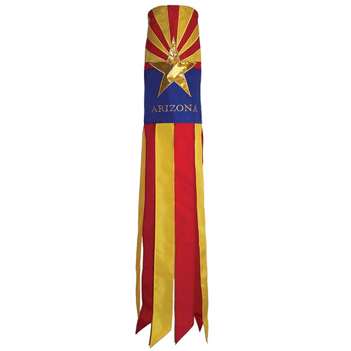 Arizona State Applique Windsock; Polyester