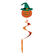 "Load image into Gallery viewer, ""Jack O Lantern"" Twister Tail; Polyester"