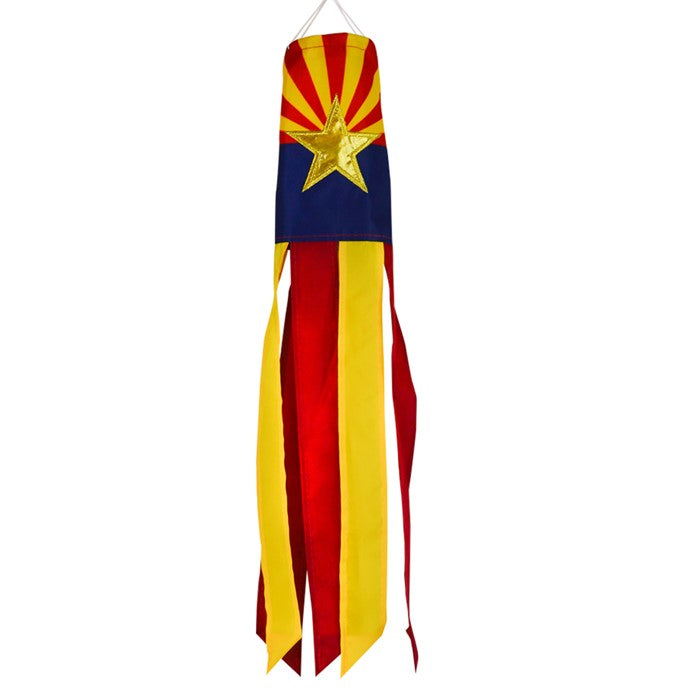 Load image into Gallery viewer, Arizona State Applique Windsock; Polyester