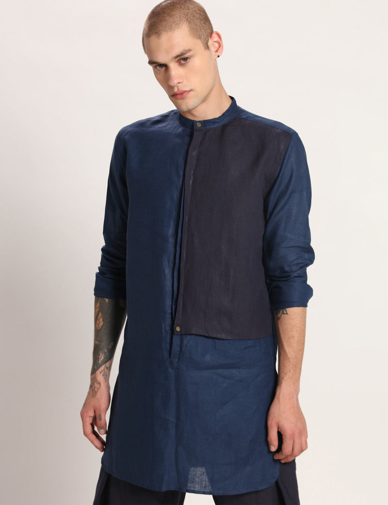 SAILOR KURTA - BLUE