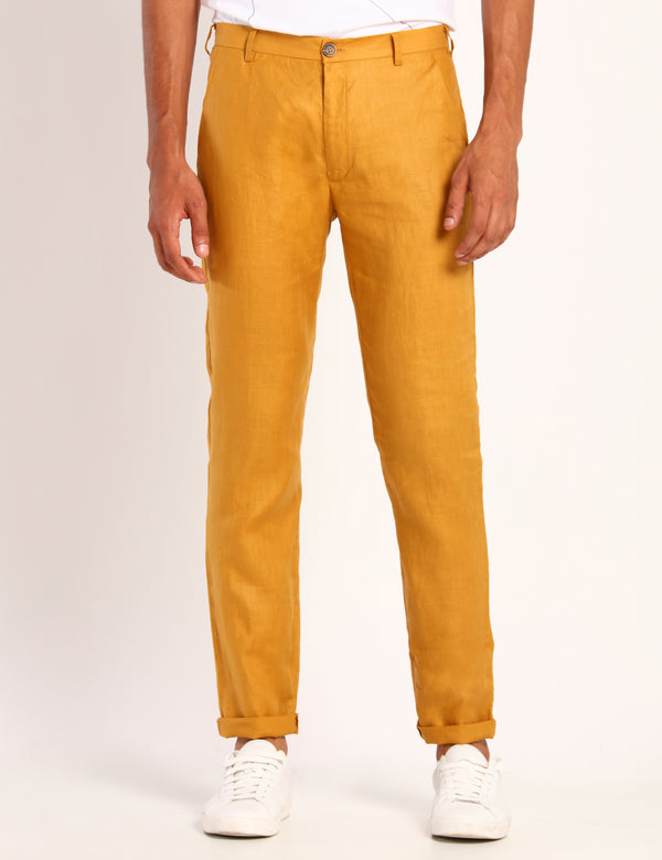 TOCO TROUSER - MUSTARD