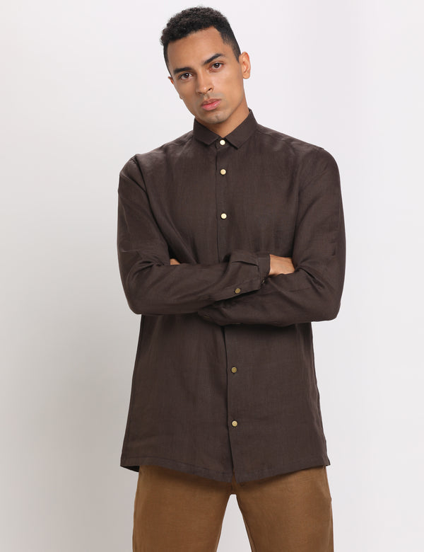 AIR SHIRT - BROWN