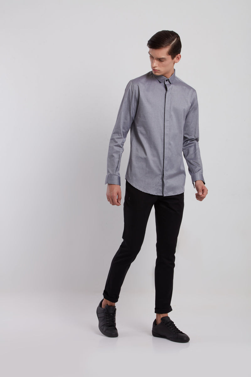 BERNARD SHIRT - GREY