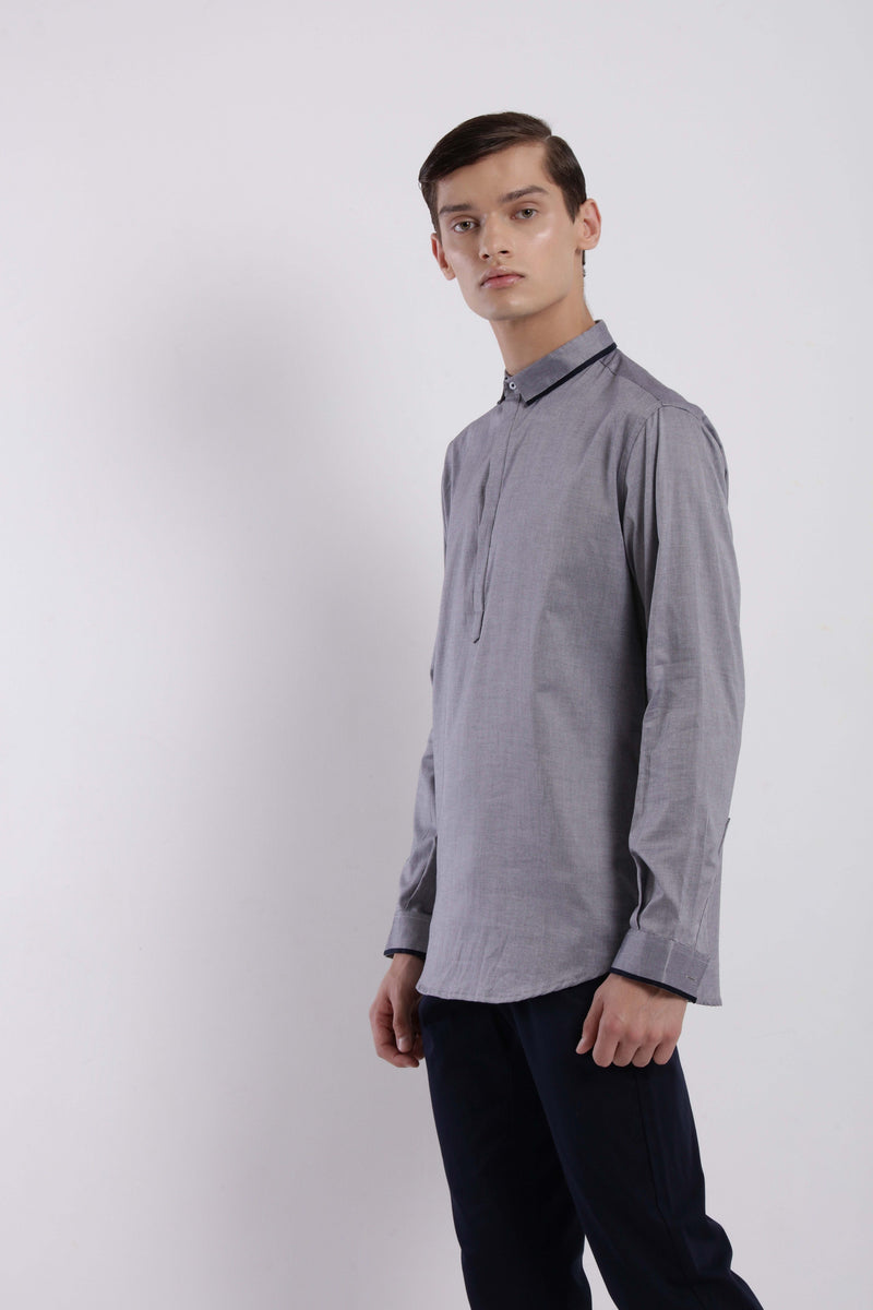 MIKE SHIRT - GREY
