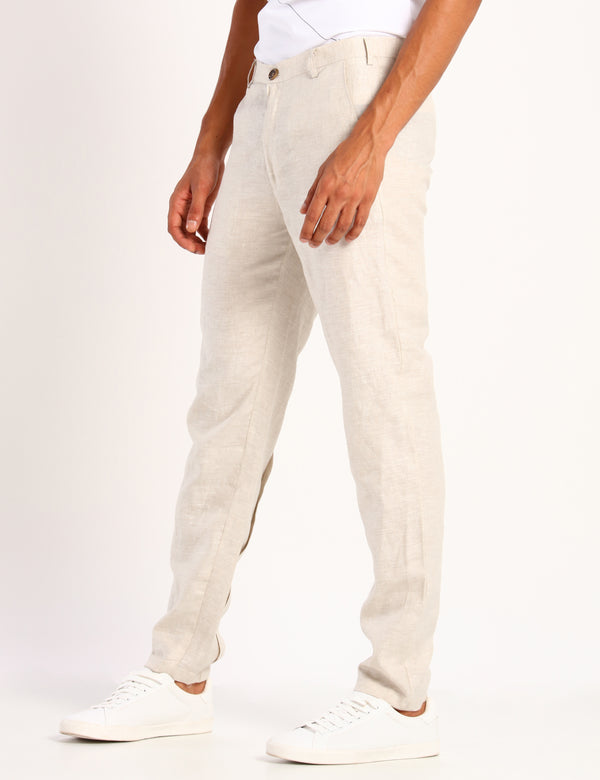 TESS TROUSER - IVORY