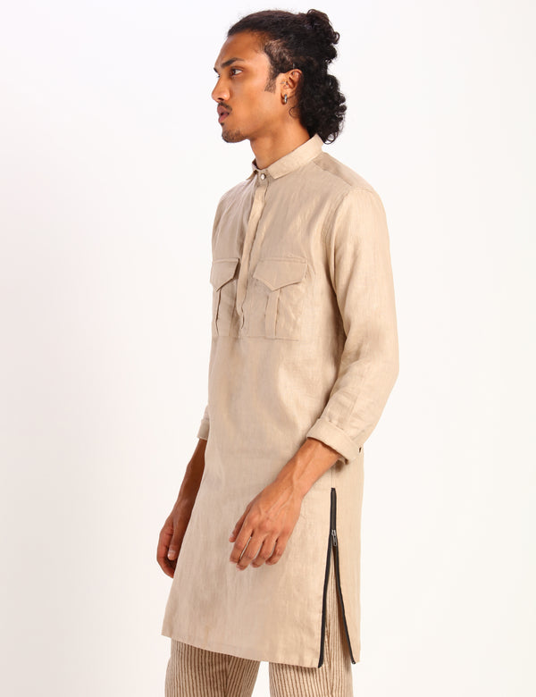 HUNTER KURTA - BEIGE