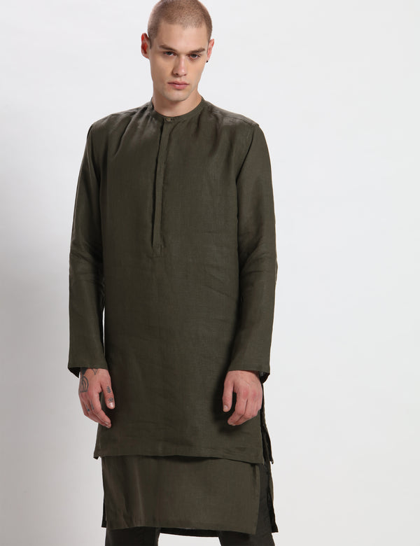 JACOB KURTA - GREEN