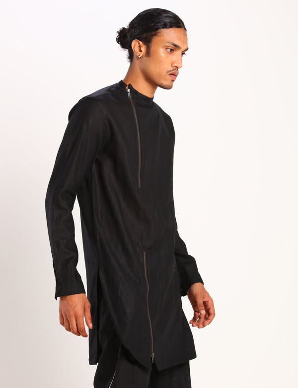 FREDDY KURTA - BLACK