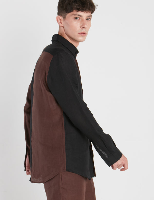 OSCAR SHIRT - BROWN