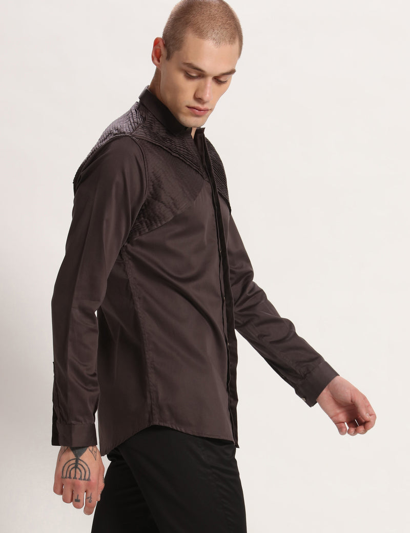 WEST SHIRT - DEEP GREY