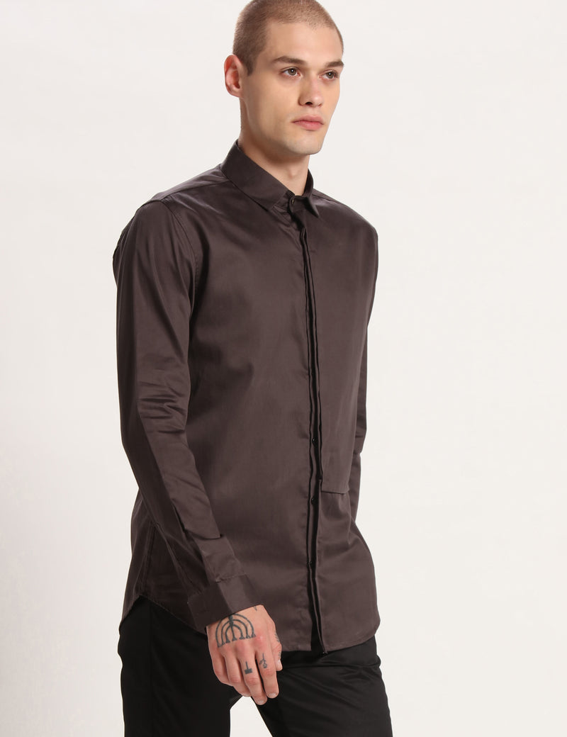 SAILOR SHIRT - DEEP GREY