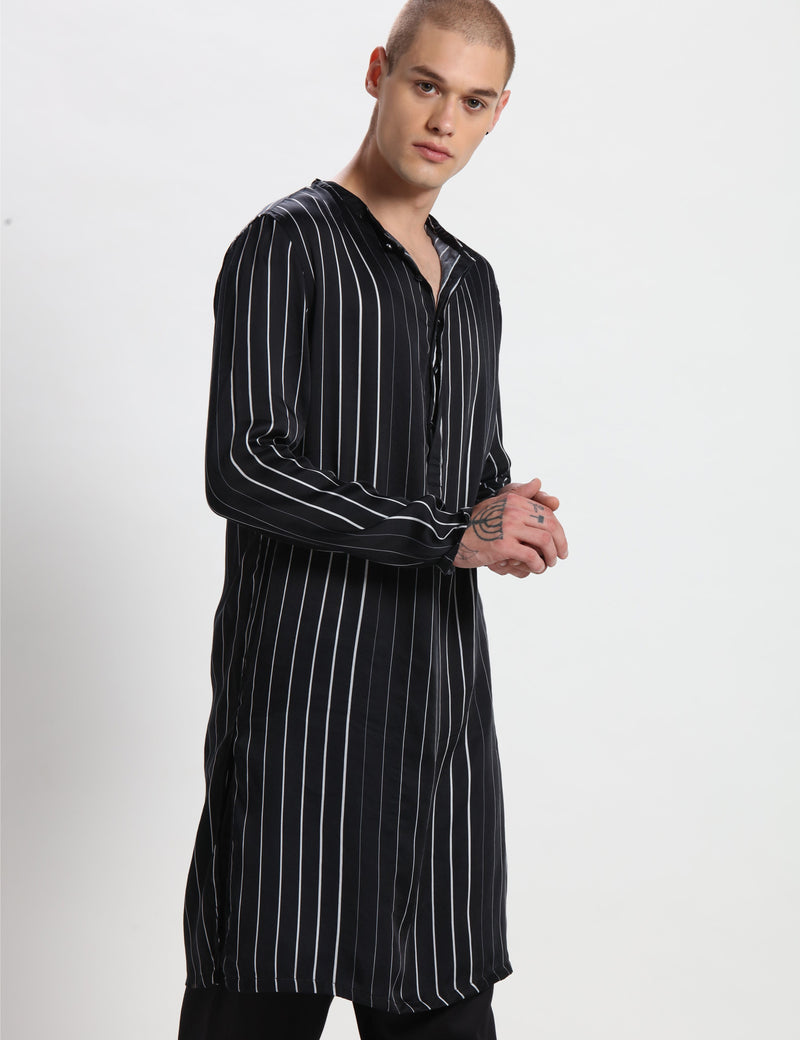 BILL KURTA - BLACK